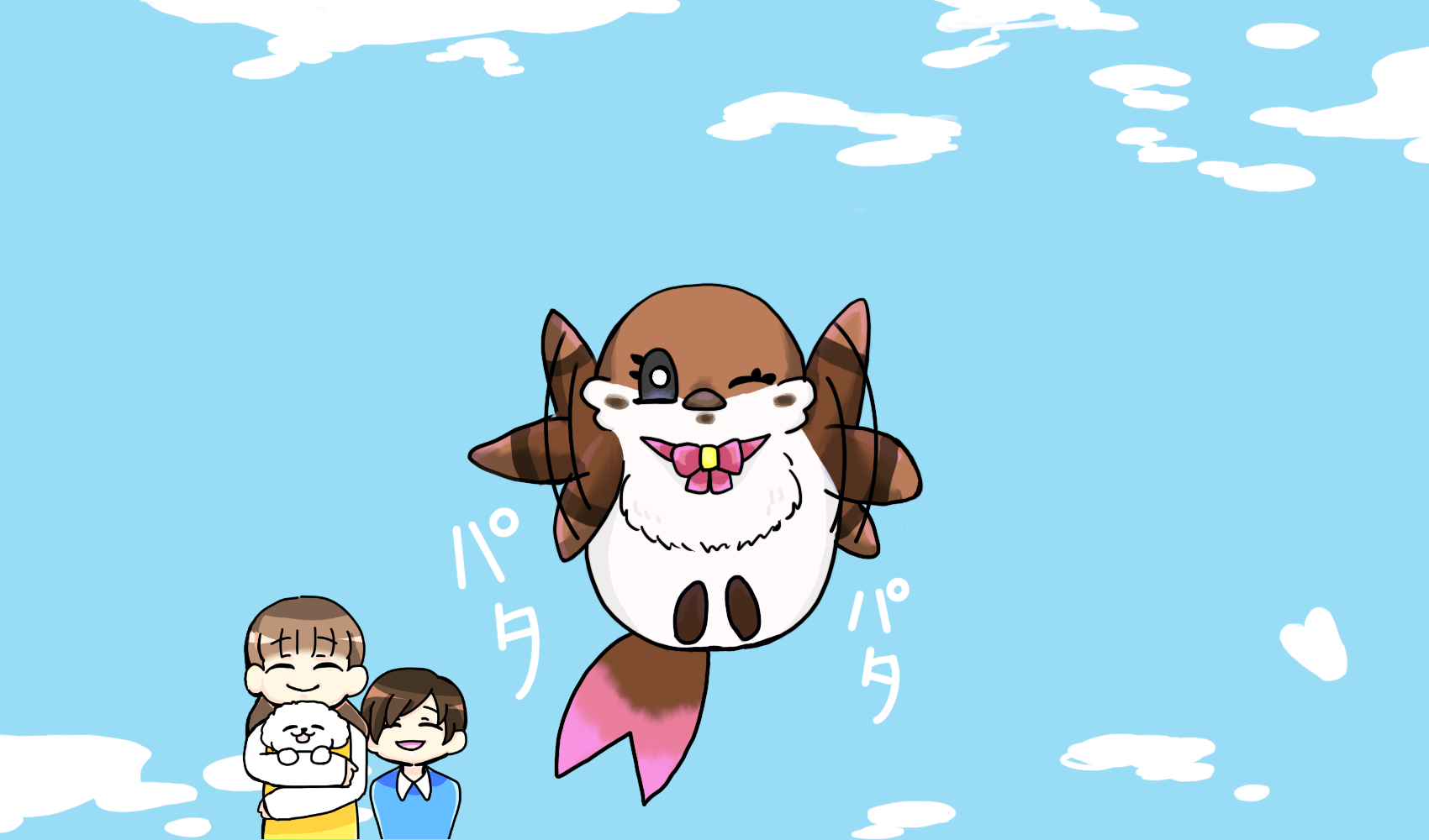 【名づけ親選手権!開催中】クリエのマスコット4コマ漫画紹介♡