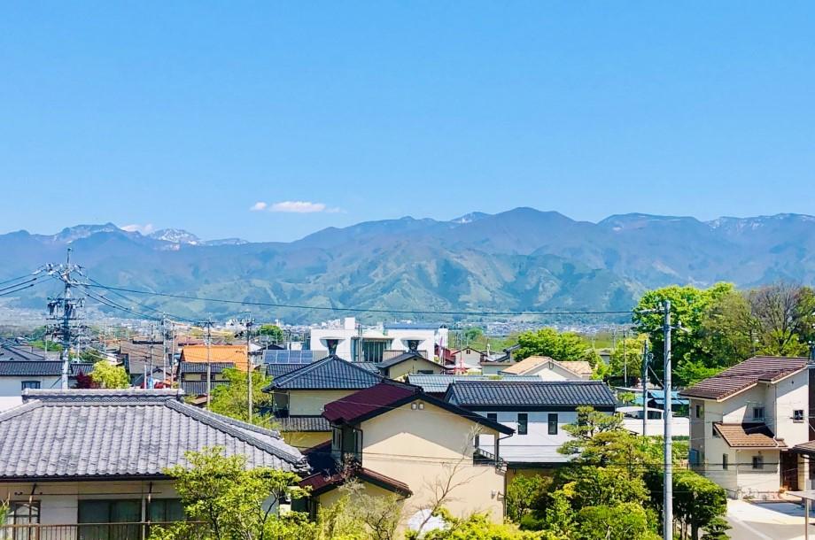 春と、長野と。