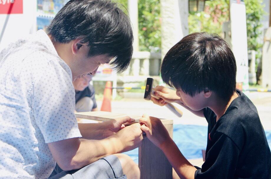 第15回 夏休み木工教室 レポート! Written by 広報 丸山